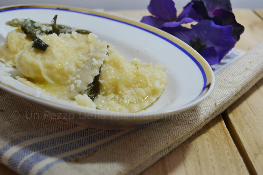 ravioli patate e ricotta