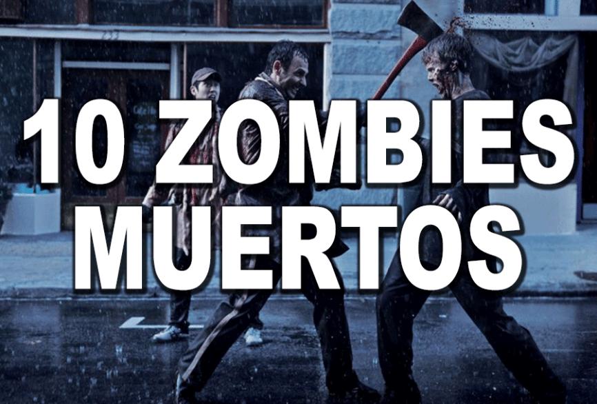 Matar zombie con hacha