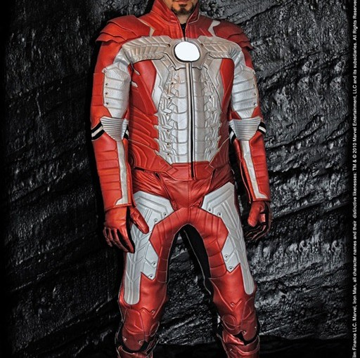 Traje de Iron Man para el motoquero amante de los comics (?)