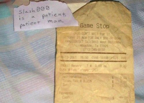 Las reservas de Duke Nukem Forever de hace 10 años, son validas