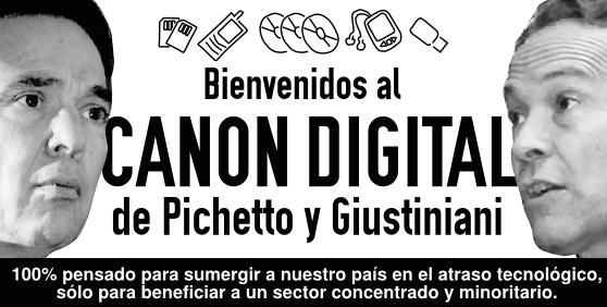 [infografía] El canon digital en Argentina