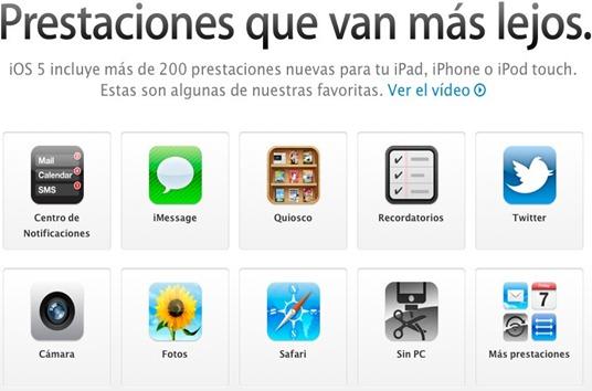 Apple - iOS5 - Las nuevas prestaciones de iOS5.