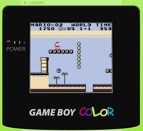 Emulador de Game Boy Color en HTML5