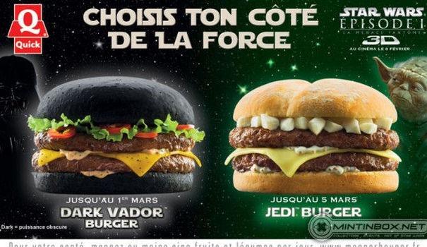 Las hamburguesas de Star Wars