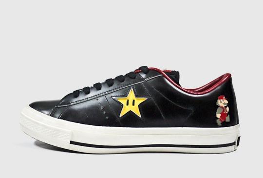 Zapatillas de Súper Mario de Converse
