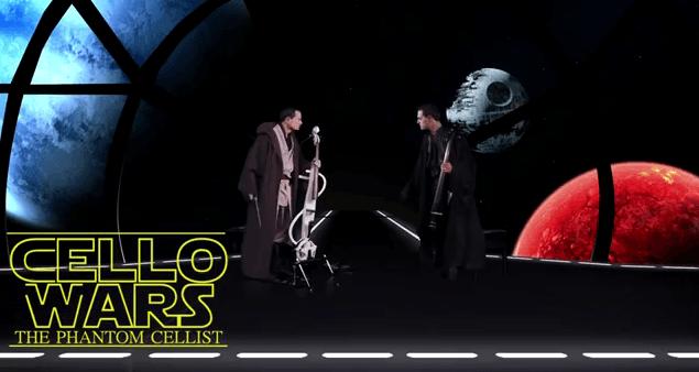 Mashup de la música de Star Wars realizado con violonchelos