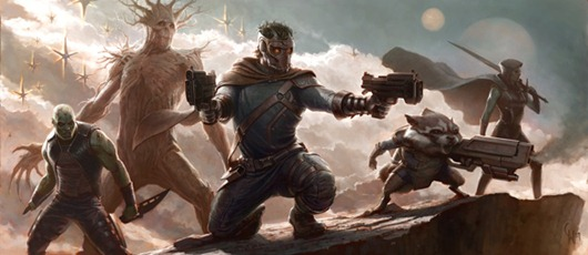 guardians of the galaxy concept art - unpocogeek.com