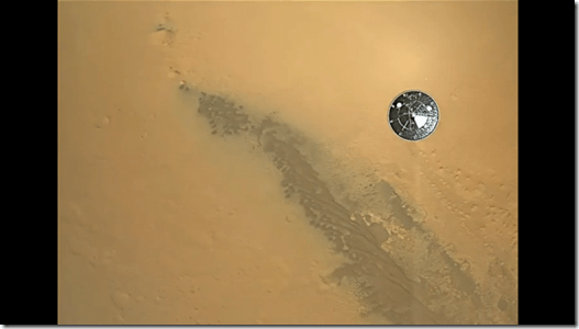 curiosity landing on mars HD video - unpocogeek.com
