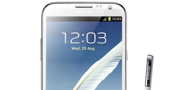 Samsung Galaxy Note 2 presentado oficialmente