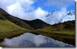 प्रतिच्छायाएँ (Reflections), Kanchenjunga National Park, North Sikkim, India