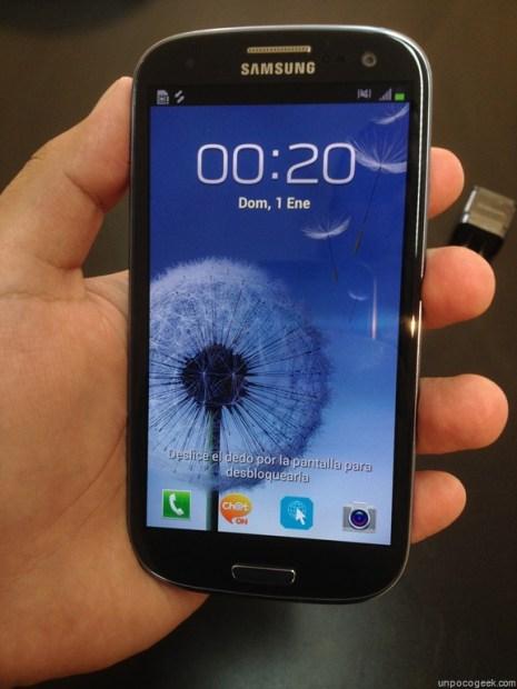 Unboxing Samsung Galaxy S3 de Personal Argentina