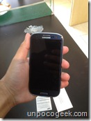 Samsung galaxy s3 unboxing -7- unpocogeek.com