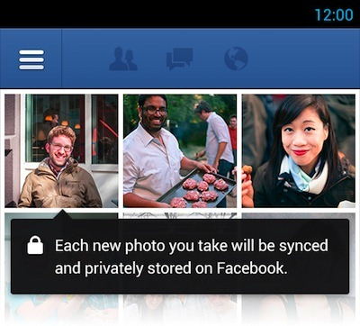 facebook for android automatic photo sync -2- unpocogeek.com