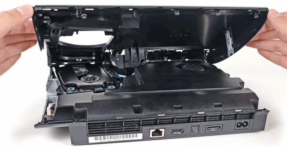 PlayStation 3 Super Slim Teardown - unpocogeek.com