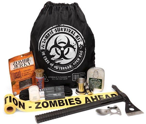 Kit de supervivencia para un apocalipsis zombie