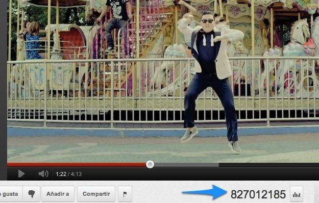 Mil millones de reproducciones para el Gangnam Style