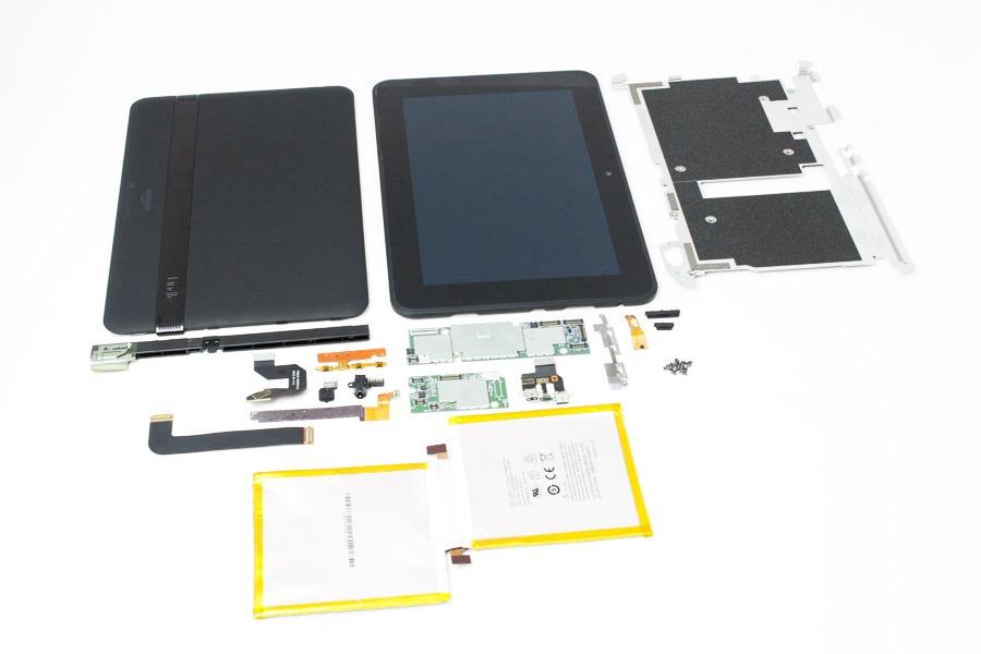 Desarme completo de una Kindle fire HD 8.9