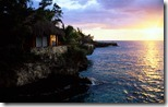Rockhouse Hotel at sunset, Negril, Jamaica