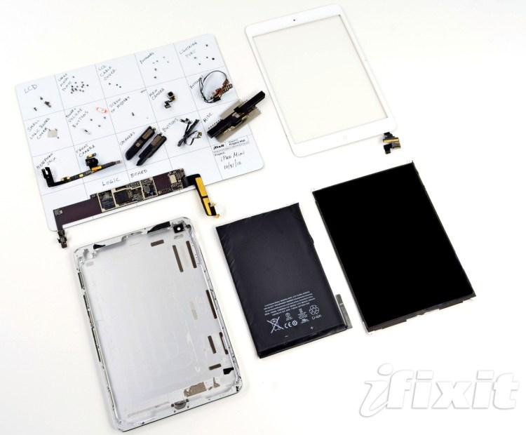 Desarmando un iPad mini