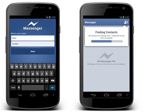 Android Messenger - Facebook Newsroom - unpocogeek.com