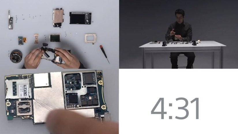 [video] Ensamblando 3 equipos Sony en 5 minutos