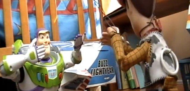Película de Toy Story recreada con juguetes reales