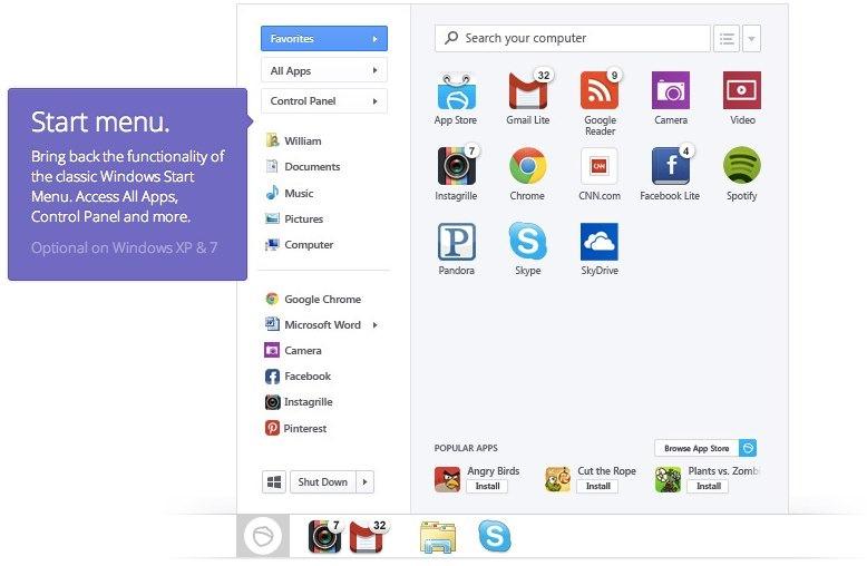 Añade un menú inicio clásico a Windows 8