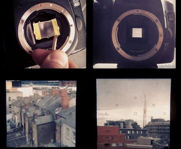 Convierte tu DSLR en una cámara instagram…