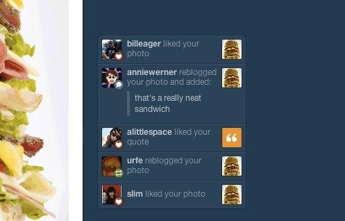 Tumblr añade notificaciones en tiempo real