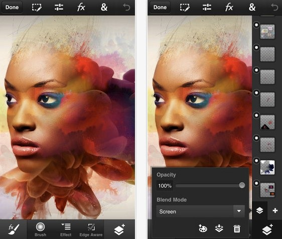 Photoshop touch para iOS y Android