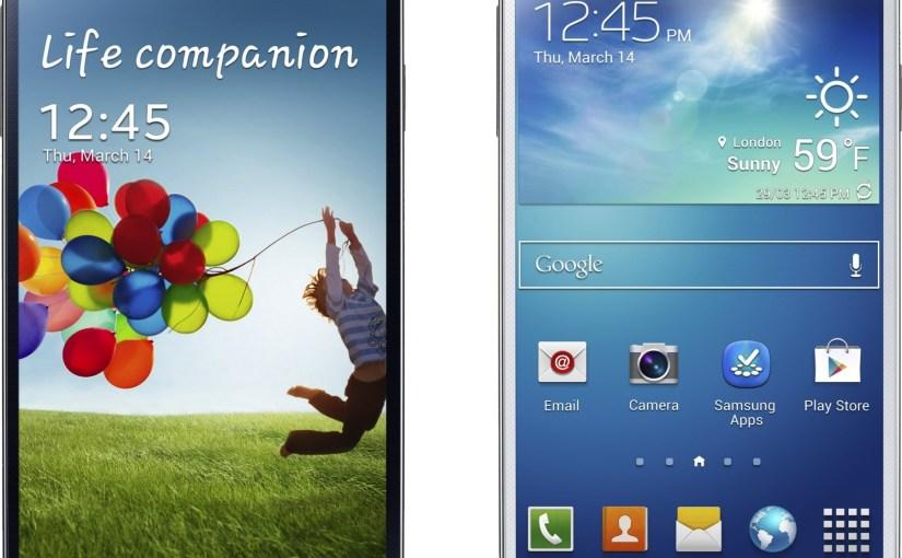 Samsung Galaxy S4 presentado en sociedad