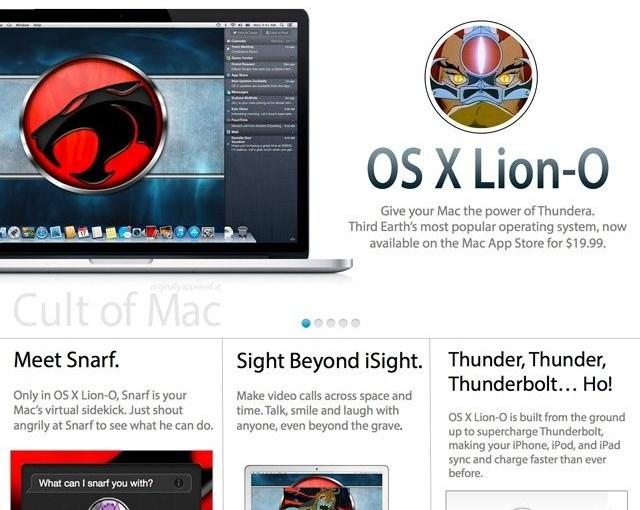 [humor] OS X Lion-o