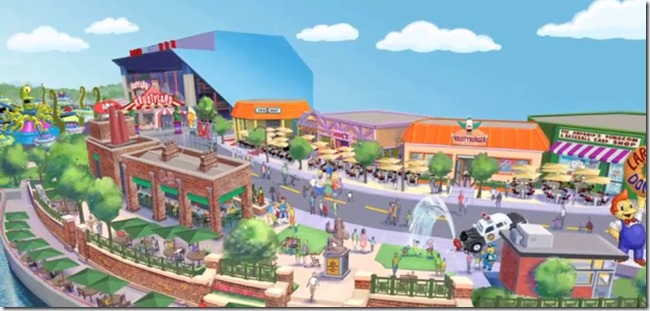 Simpsons new theme park at orlando florida - unpocogeek.com