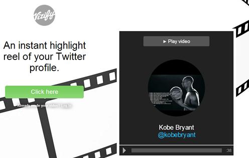 vizify twitter video - unpocogeek.com