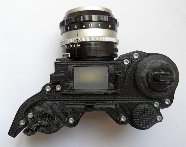DSLR 3D printed - unpocogeek.com