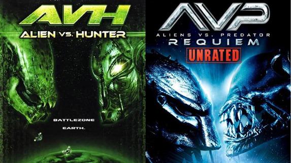 alien vs hunter - unpocogeek.com