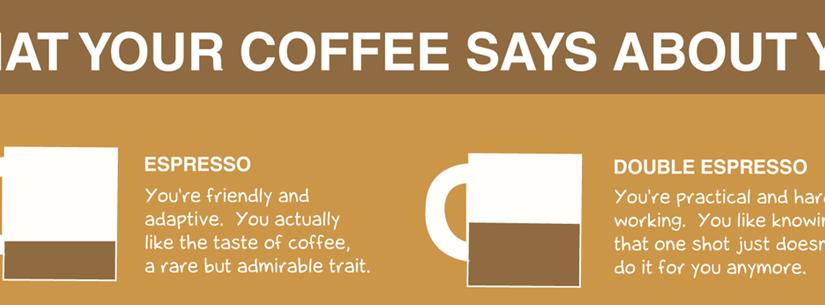 ¿El café que tomas te define?