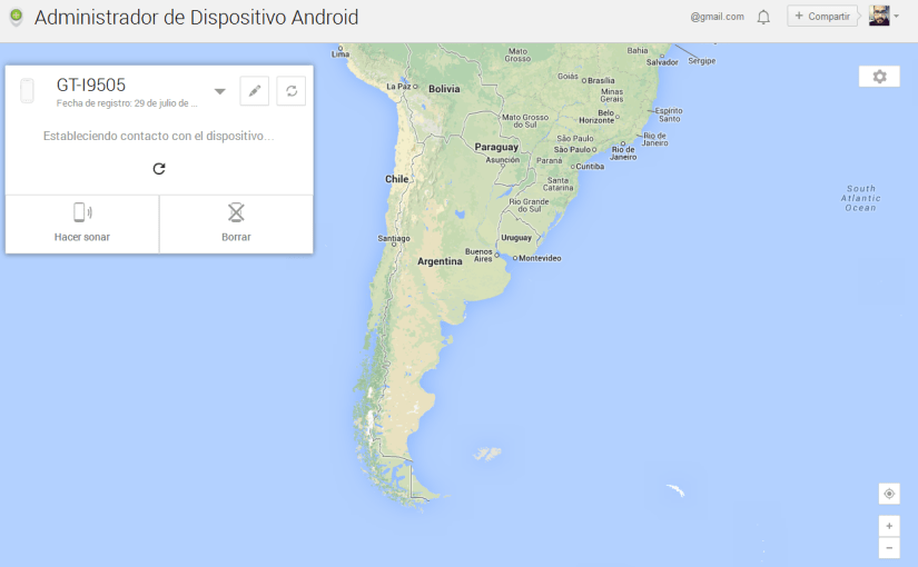 Google Play Services se actualiza y nos permite localizar nuestro equipo esté donde esté
