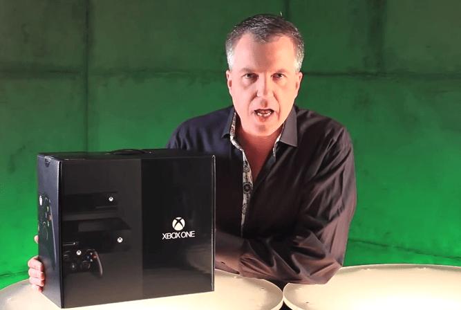 Unboxing de una XBOX One de la mano de Microsoft