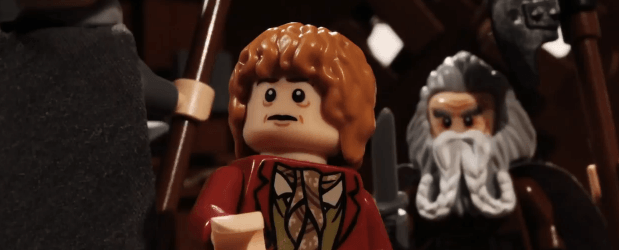 "Trailer de ""Desolation of Smaug"" recreado con legos"