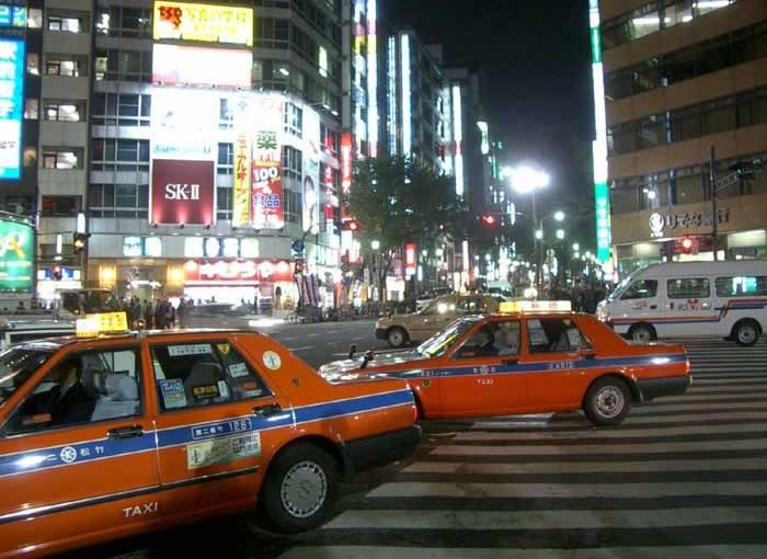 Taxis de Tokyo te avisan si te olvidas algo en el asiento
