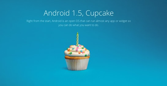 android-1.5-cupcake - unpocogeek.com