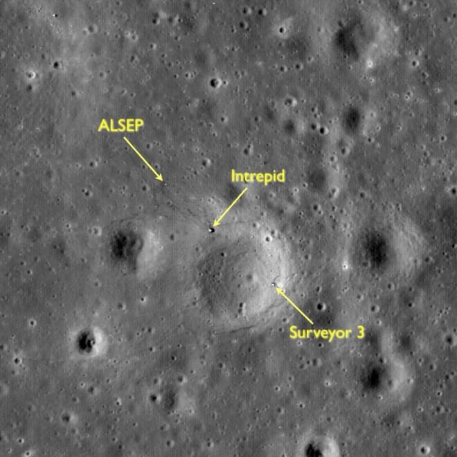zonas de aterrizaje misiones apolo - unpocogeek.com