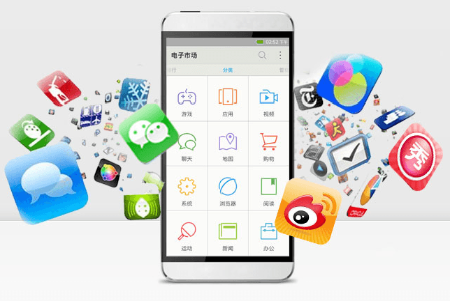 COS el sistema operativo móvil de China