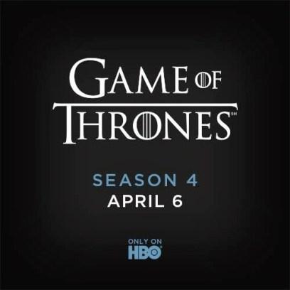 Game of Thrones temporada 4 en abril - unpocogeek.com