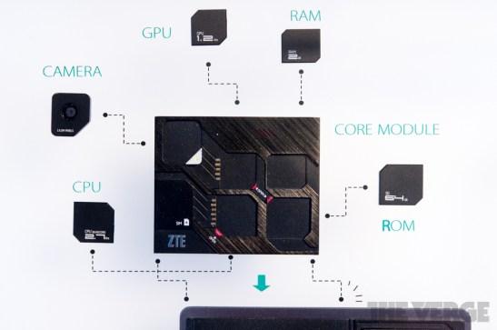 eco mobius smartphone modular zte - unpocogeek.com