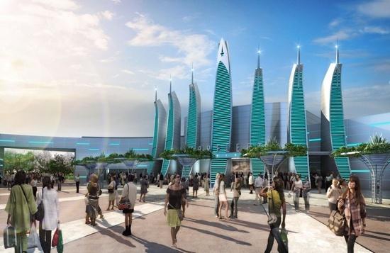 Paramount creará un parque tematico de Star Trek en España