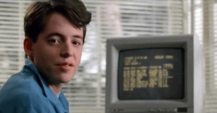 Escenas de hacking en películas de los 80