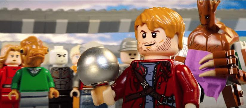 Trailer de Guardianes de la Galaxia realizado con LEGOS