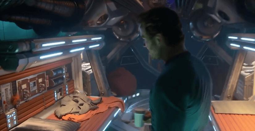 Un tour dentro de la nave de Guardianes de la Galaxia